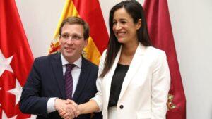 José Luis Martínez-Almeida y Begoña Villacís