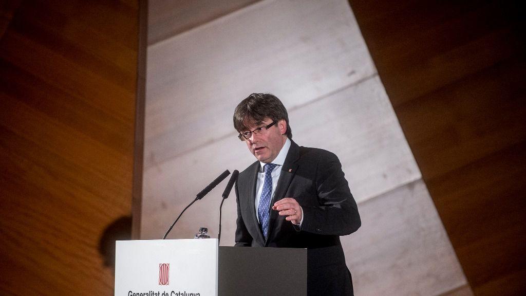 Carles Puigdemont, presidente de la Generalitat