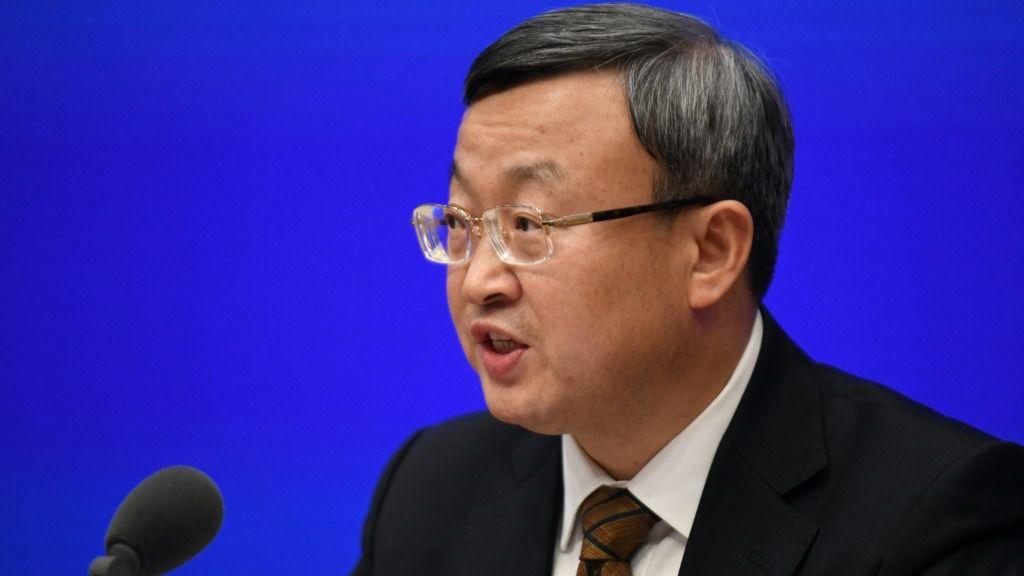 El viceministro de Comercio chino, Wang Shouwen, el 13 de diciembre de 2019 en Pekín