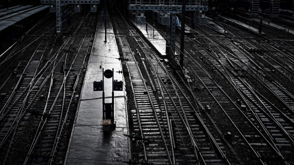 Huelga ferrovaria en Francia