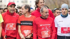 Abel Antón, embajador de 123aCorrer, en la XXI edición de la Carrera de las Empresas de Madrid