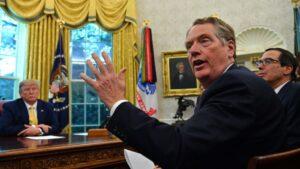 """""""Realmente es un acuerdo notable, pero no va a resolver todos los problemas"""", sostuvo el USTR Robert Lighthizer"""