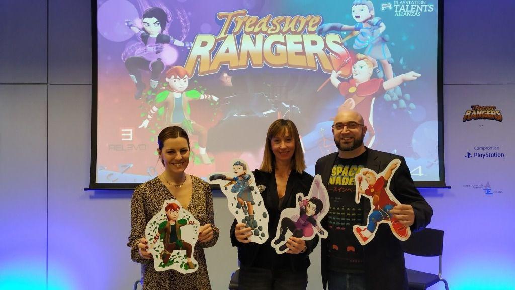 Presentación de 'Treasure Rangers', un videojuego inclusivo que narra las aventuras de cuatro amigos, uno de ellos con trastorno del espectro autista