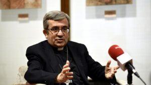 el secretario general y portavoz de la Conferencia Episcopal Española (CEE), Luis Argüello