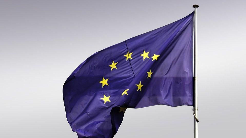 Bandera UE Union europea