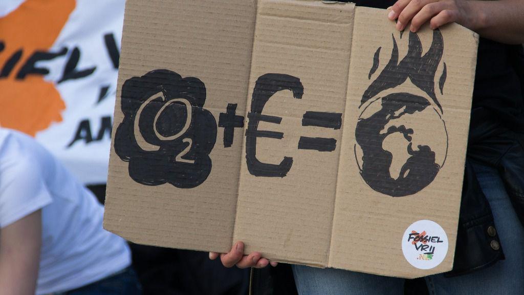Cambio climático protesta manifestacion