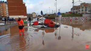 Innundaciones en Reinosa