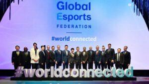 Presentación de la nueva GLobal Esports Federation en Singapur, China