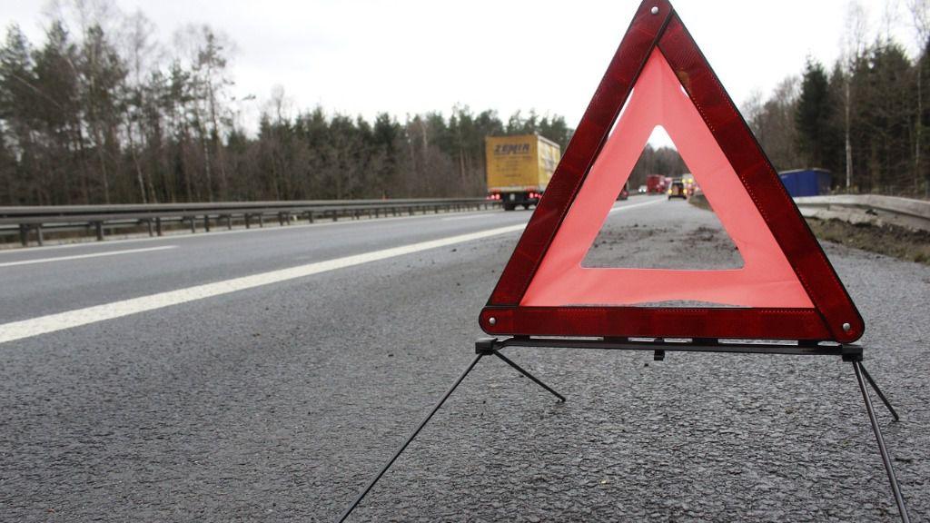 Accidente señal trafico
