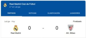Real Madrid Bilbao