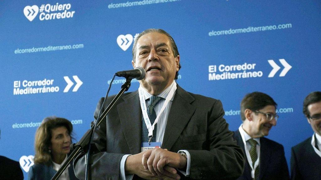 El Presidente de la Asociación Valenciana de Empresarios (AVE), Vicente Boluda
