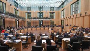 Sesión de la Cámara Alta del Parlamento alemán