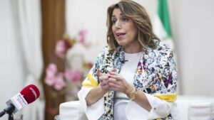 Susana DíazLa secretaria general del PSOE-A, Susana Díaz
