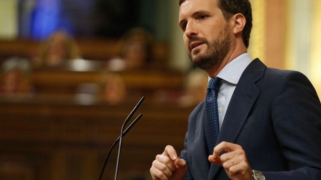 Pablo Casado en el Congreso de los Diputado