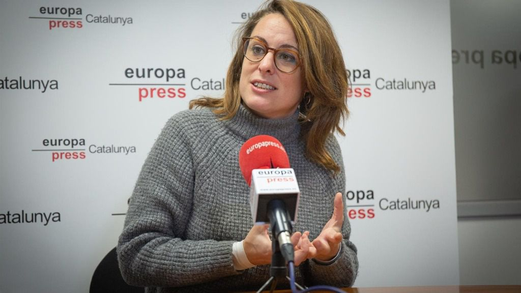 La diptuada de la CUP en el Congreso, Mireia Vehí