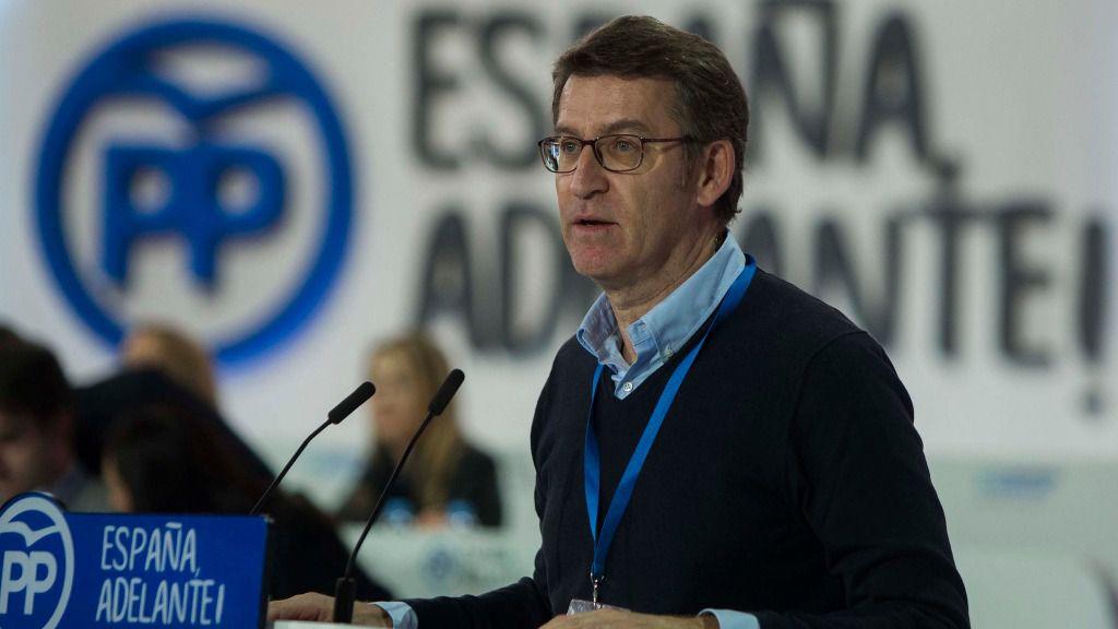 Alberto Núñez Feijoó, presidente de la Xunta de Galicia