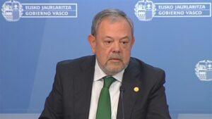 El consejero vasco de Economía y Hacienda, Pedro Azpiazu