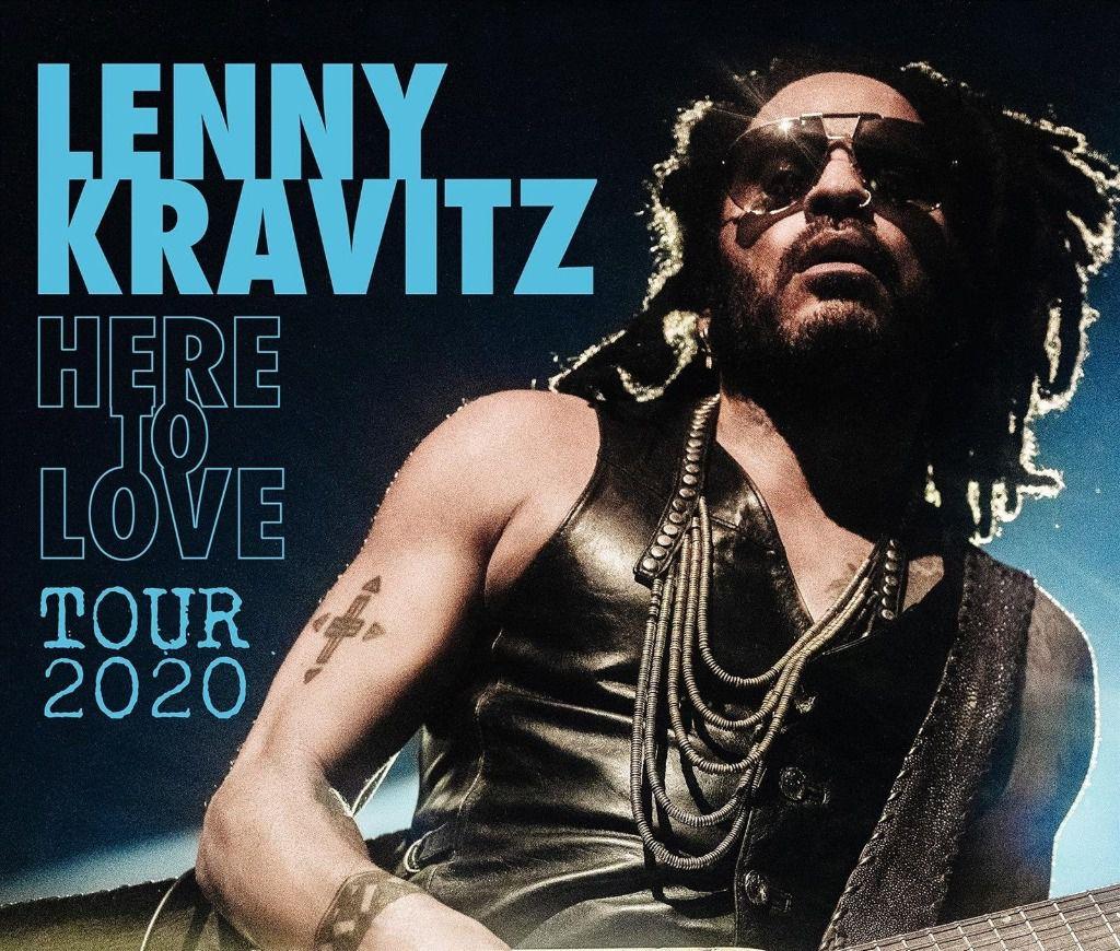 Lenny Kravitz anuncia gira mundial con parada en Madrid