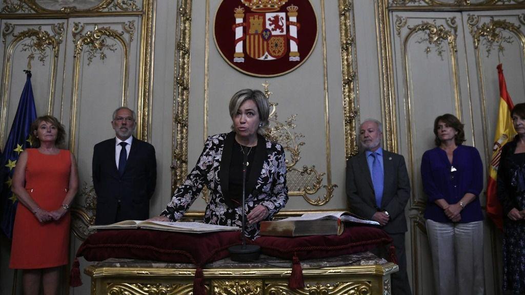 Consuelo Castro Rey, abogada General del Estado-Directora del Servicio Jurídico del Estado - Oscar del Pozo