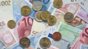 Billetes monedas euro