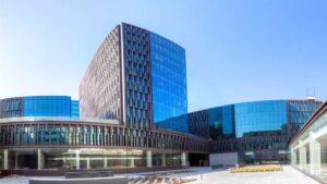 Proyecto del complejo de oficinas del distrito 22@ de Barcelona, con 101 puntos del Leed Green Building, una medición por puntos sobre edificios sostenibles que emite el US Green Building Council