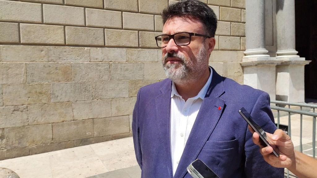 El diputado de Sobiranistes en el Congreso Joan Josep Nuet