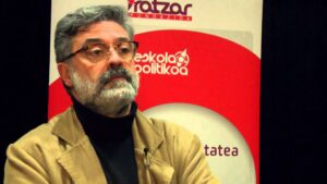 Carles Riera, cabeza de lista por la CUP