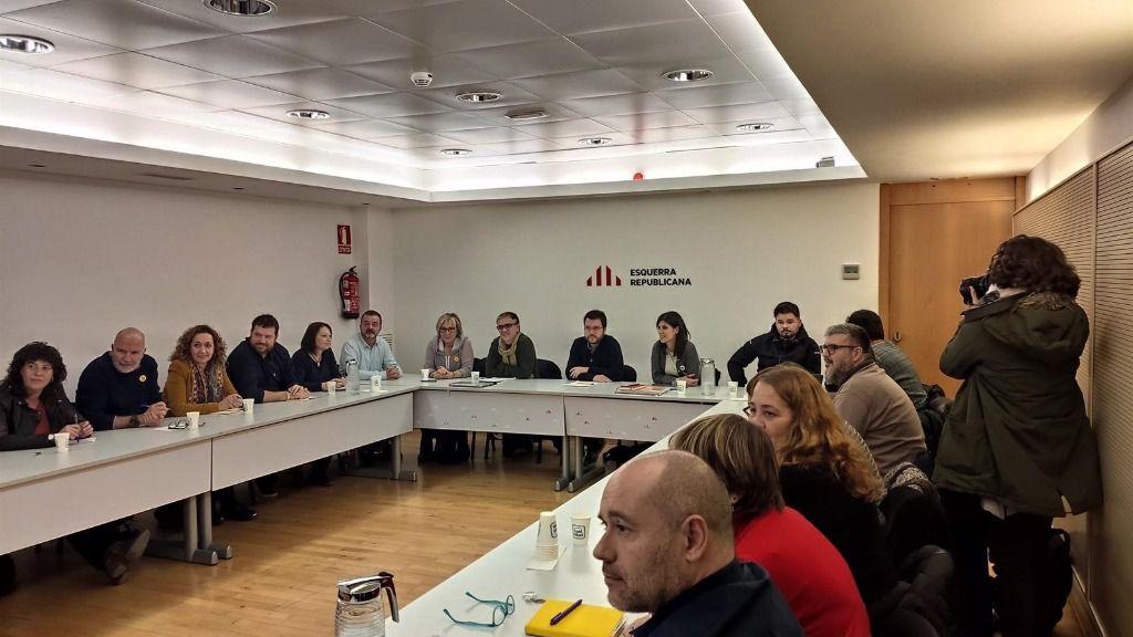 Reciente reunión de la Ejecutiva de ERC