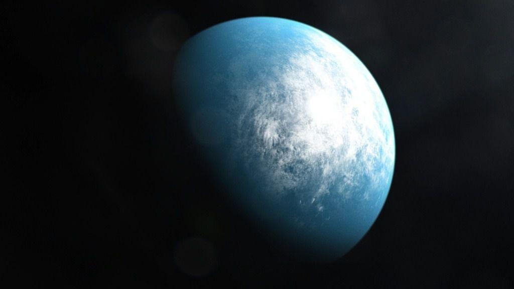 El planeta TOI 700 d (visto en una ilustración) es el primer planeta del tamaño de la Tierra en una zona habitable hallado por el satélite de la NASA TESS