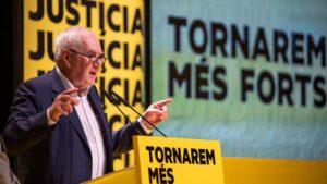 El presidente del grupo ERC en el Ayuntamiento de Barcelona, Ernest Maragall
