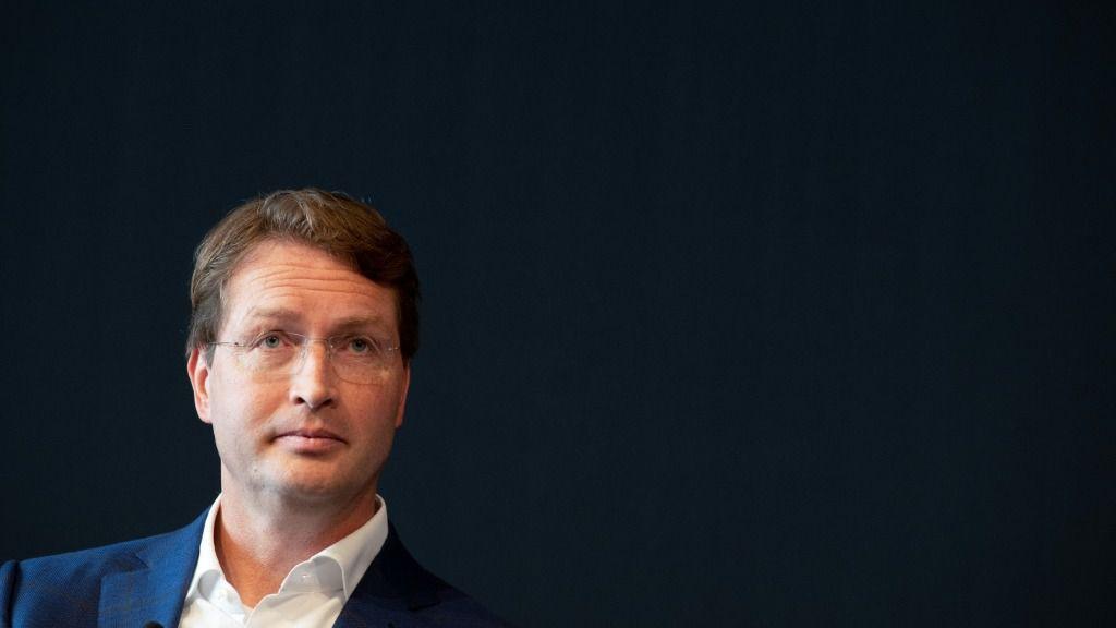 Ola Kaellenius, presidente ejecutivo del grupo automovilístico Daimler AG, en un debate sobre la movilidad en el futuro, el 14 de septiembre de 2019 en Stuttgart, Alemania