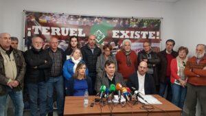 Rueda de prensa de Teruel Existe
