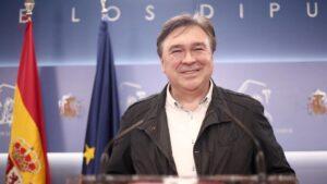 El diputado de Teruel Existe en el Congreso, Tomás Guitarte