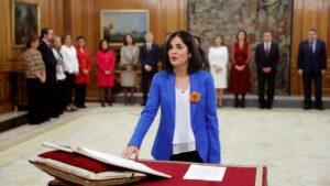 La nueva ministra de Política Territorial y Función Pública, Carolina Darias