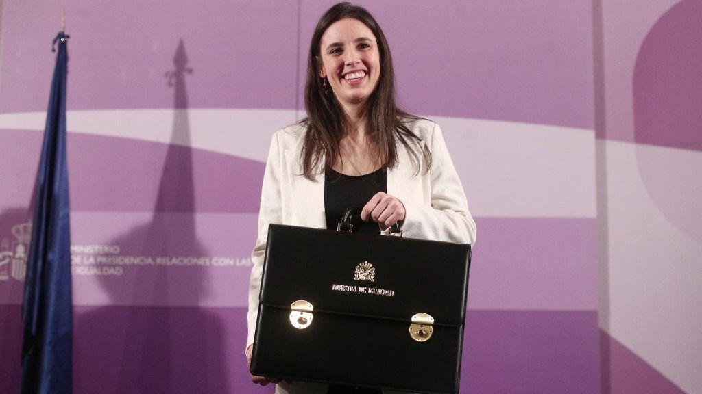 La nueva ministra de Igualdad, Irene Montero