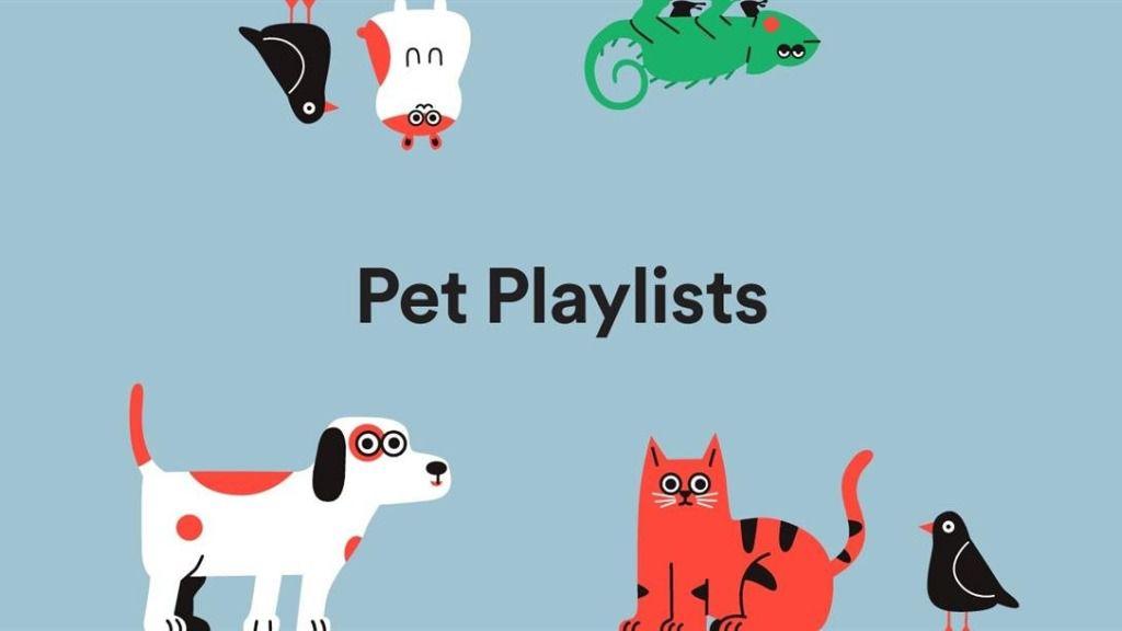 Listas de reproducción para mascotas de Spotify