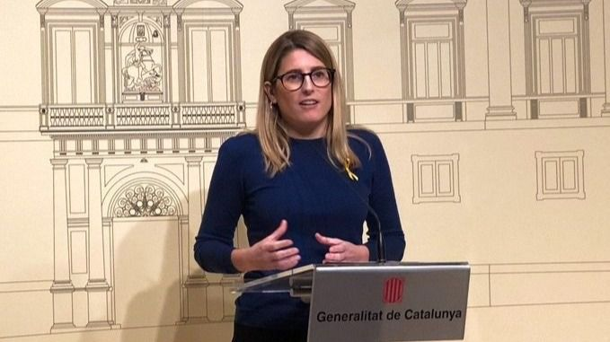 La diputada de JxCat en el Parlament Elsa Artadi