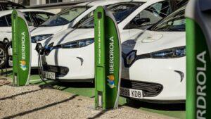 Puntos recarga coche eléctrico Iberdrola
