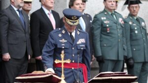 El general del Aire, Miguel Angel Villarroya