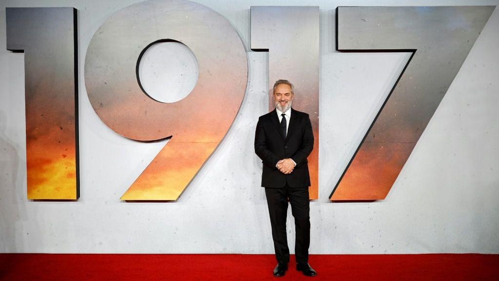 """El director de cine británico Sam Mendes, uno de los favoritos para los Óscar con """"1917"""""""