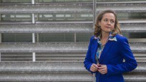 La vicepresidenta tercera y ministra de Asuntos Económicos y Transformación Digital, Nadia Calviño