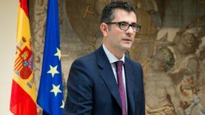 El secretario general de la Presidencia, Félix Bolaños