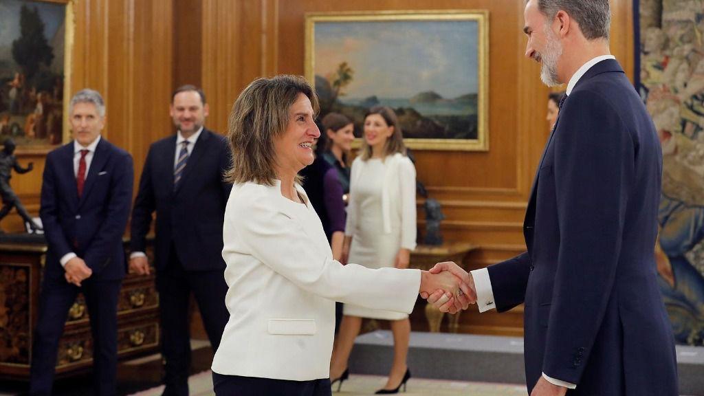 La vicepresidenta de Transición Ecológica y Reto Democrático, Teresa Ribera