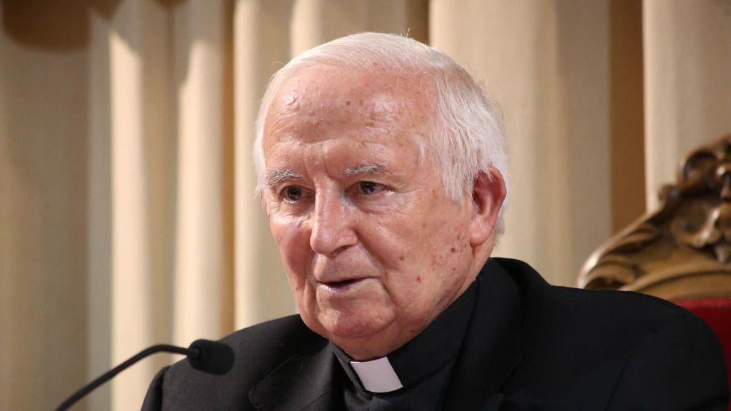 El arzobispo de Valencia, Antonio Cañizares