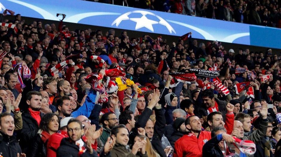 Afición del Atlético de Madrid