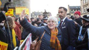 La exconsellera catalana Clara Ponsati, afincada en Escocia