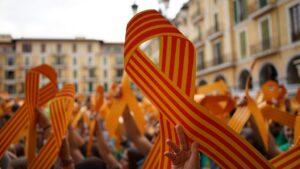 Esteladas independencia independentistas cataluna