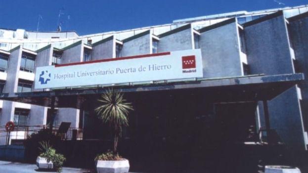 El antiguo Hospital Puerta del Hierro en los años de uso