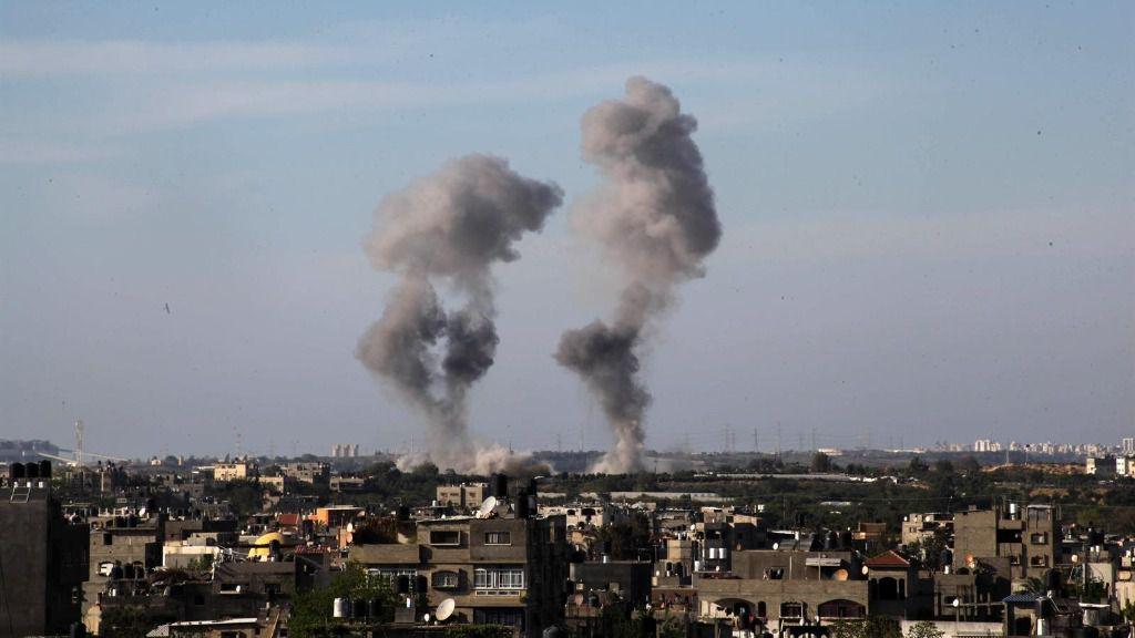 Imagen de enfrentamientos en la Franja de Gaza