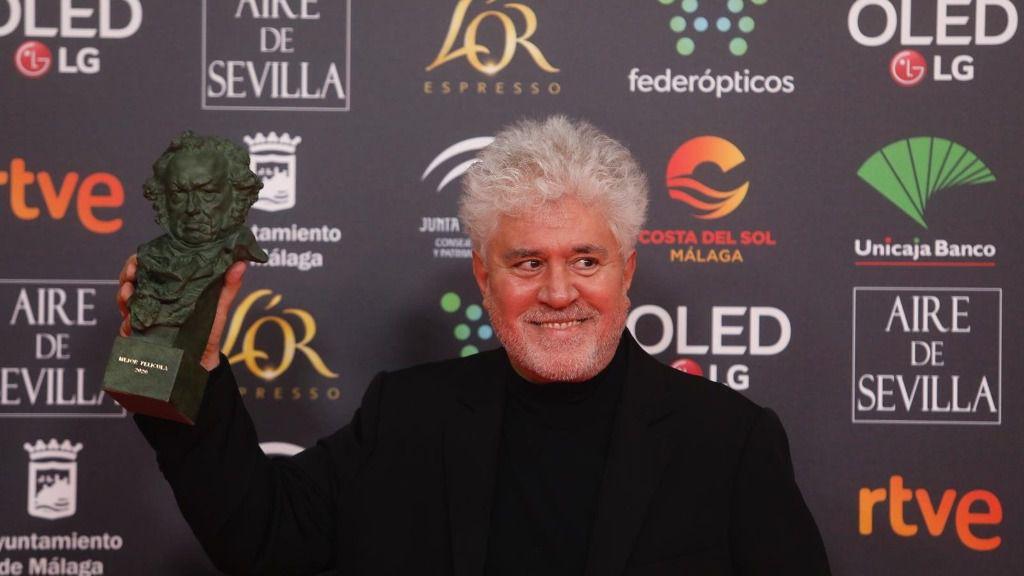 Mejor dirección es para Pedro Almodóvar por Dolor y gloria en la XXXIV edición de los Premios Goya